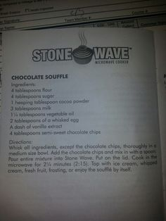 1000 Images About Stone Wave Recipe S On Pinterest