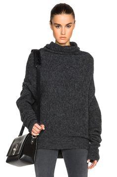 Vendome Drape Mohair Sweater