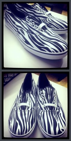 #Vans Girls Alp #Shoes in Black/Zebra $42.99~~ I WANT THESE SHOES!!!