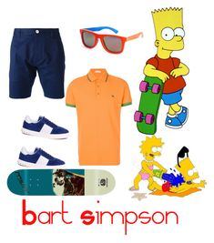 """Bart Simpson"" by umoja ❤ liked on Polyvore featuring Dsquared2, Etro, Valentino, Andy Warhol, men's fashion and menswear"