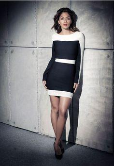 Nicole x missguided white dress asos