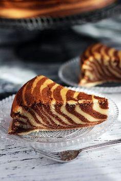 Jak zrobić ciasto zebra