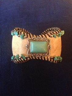 Baseball Cuff Bracelet by CraftyMountainGirls on Etsy