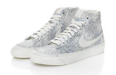 Silver Nikes