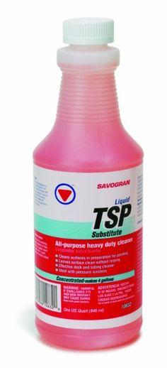 Savogran 10632 Liquid TSP Substitute Cleaner, Quart