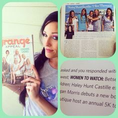 Can't wait to read this article on my friend!!!!... She is Honored to be feat in Orange Appeal Magazine out of Winter Park FL this month! Our 1st in FL! The article talks about me being a native of WP and my music, Mrssonshine.com and my heart behind i am mermaid! So special ;)