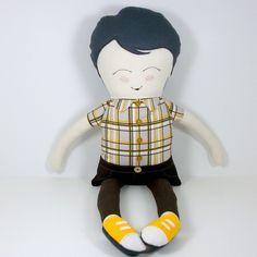 Super cute boy doll