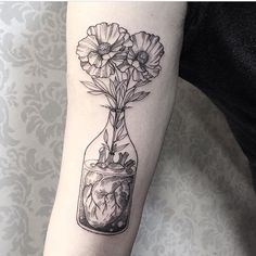 Tattoo by @sandracunhaa Tag photos #darkartists to submit your work and follow the artists to see more