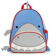 "Backpacks with personality and practicality, the Skip Hop Zoo Pack is absolutely adorable with its cute design and great features! Skip Hop backpacks are ""where fun meets function!"" Whimsical details and durable materials make this the perfect pack for on-the-go! Perfect for kindy, daycare and preschool! It's smart Shark design will appeal to both little boys and girls! #backpacks #backtoschool"