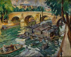 Mela (Maria Melania) Muter (Mutermilch) - Pont Marie w Paryżu