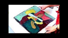 Acrylmalerei Techniken   Malen auf schwarzem Grund