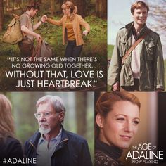 How can you risk your heart if you don't age? #Adaline