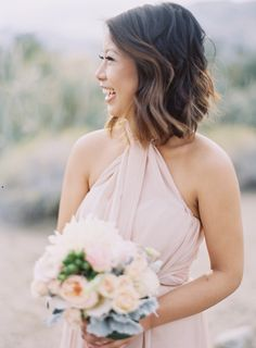featured on smp   this couple's laid-back approach to the prettiest wedding   makeup & hair by valarie   photography: christine choi (christinechoi.com) read more on SMP: http://www.stylemepretty.com/california-weddings/2016/04/12/this-bride-and-grooms-laid-back-attitude-led-to-in-the-prettiest-wedding/ #kellyzhang #kellyzhangstudio #wedding #stylemepretty #smp #bride #bridal #rustic #rustic venue #romantic #smoketreeranch #marycass #jensensflorists