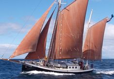 1997 Traditional Steel Gaff Ketch Sail boat for sale, located in United Kingdom, CONWY Sailboats For Sale, Sailing Ships, Sailing Yachts, Boat Art, Cool Boats, Motor Yacht, Wooden Boats, Tall Ships, Water Crafts