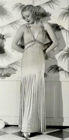 Vintage 30s 60s dress