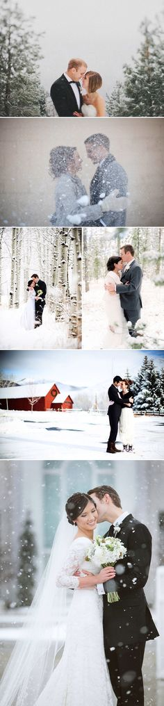 This makes me want to have a winter wedding!