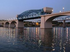 Bridge over the Tennessee River in Chattanooga