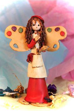 Artist fairy by fairiesbynuria on Etsy, $45.50