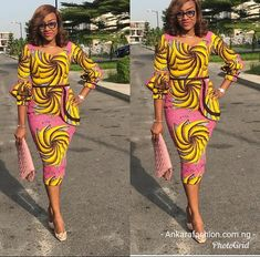 The ideal source for your afro chic life style and fashion site African Dresses For Women, African Print Dresses, African Attire, African Wear, African Women, African Prints, African Clothes, African Fashion Ankara, African Print Fashion