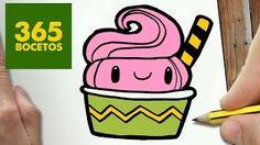 dibujos de kawaii helados - Buscar con Google