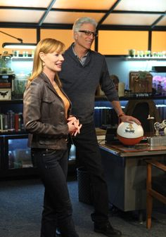 Willows in the Wind' Cather Willows and DB Russell in Helgenberger's last episode on CSI CRIME SCENE INVESTIGATION Wednesday Jan 25 on the CBS...