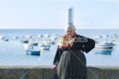 Bretonische Frauen mit Kopfschmuck bigouden — Stockdatei #12171899
