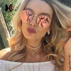 2017 retro round sunglasses women men brand designer sunglasses for women alloy mirror sunglasses lentes female oculos de sol Cheap Ray Bans, Cheap Ray Ban Sunglasses, Cat Eye Sunglasses, Mirrored Sunglasses, Sunglasses Women, Retro Sunglasses, Summer Sunglasses, Reflective Sunglasses, Sunglasses Outlet