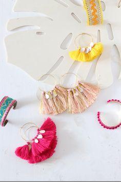 Summer Vibes : DIY Bijoux colorés pour l'été