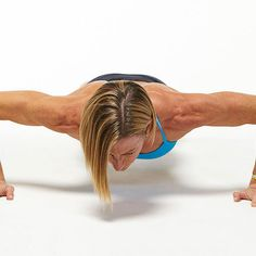 Day 16 Plank Challenge: Standard Wide Grip Push-Up - Fitnessmagazine.com