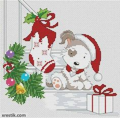 Hello everyone! This pattern for cross stitch I made myself. More of my patterns can be downloaded from the website: http://www.xrestik.com/ Always glad to see new visitors! #DMC #Threads #crossStitch #etamin #embroidery #fabric #decorate #pattern #ornament
