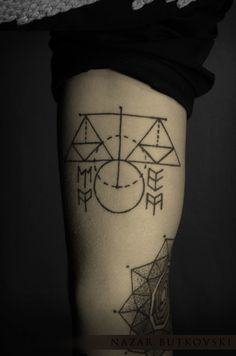 Like the geometry of the Libra. Dont want every symbol beneath the weights but its clean simple and beautiful. Tattoo
