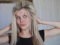 Straight hair volume tricks