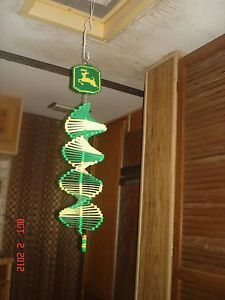 plastic canvas wind spinners patterns | tractor wind spinner handmade plastic canvas very pretty!!!! see video ...