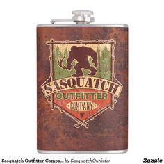 Sasquatch Outfitter Company Hip Flask