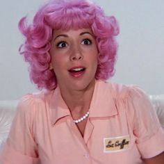 """Didi Conn as Frenchy the """"beauty school dropout"""" in Grease the movie My Fair Lady, Frenchy Grease, Didi Conn, Grease Movie, Grease 1978, Grease Dance, Musical Grease, Grease Party, Grease 2"""