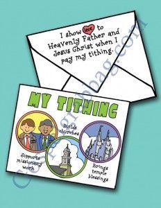 TITHING: Primary CTR-A, Lesson 33, Primary 2 manual, I Can Pay Tithing, Primary Lesson Helps, family home evening, Sunday Savers book or CD-...