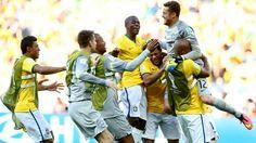 Brasil 1 - 1 Chile (P 3-2)