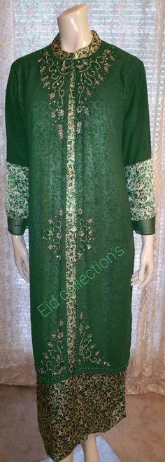Chiffon Abaya Maxi Dress
