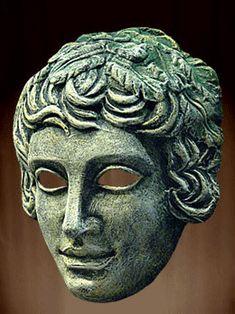 Resultado de imagen de máscaras de teatro griego