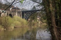 Iron Bridge, Shropshire, UK - right side view