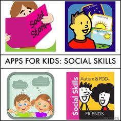 Social skills apps for kids with autism, hyperlexia, or other special needs from And Next Comes L
