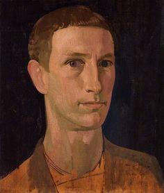 Henry Lamb. Self-Portrait, 1914, Oil on panel, 36.8 x 31.8 cm, National Portrait Gallery, London