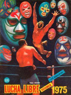 Lucia Libre 1975 ~ ¡ mil máscaras !