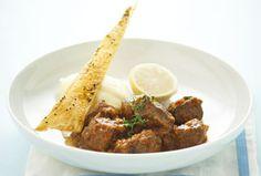 Slow-Cooked Greek Lamb Stew | #aussielamb www.australian-lamb.com