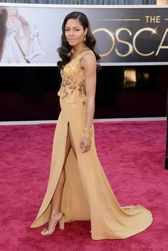 Naomie Harris in Michael Badger ... What is it? Are the Porn-Oscars? SHAME SHAME SHAME