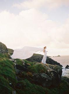 Esta #fotografía de la novia es espectacular! / This #photo of the bride is stunning!