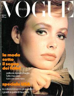 Vintage Magazines, Vintage Ads, 1980 Makeup, Vogue Covers, Vogue Uk, Cover Girl, Vogue Magazine, Classic Beauty, 80s Fashion