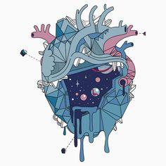 Frozen Alien Heart