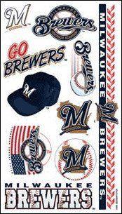 MLB Temporary Milwaukee Brewers Tattoo $3.99
