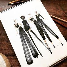New fun article on @fashionunitedhq guys - head over there for more illustrations! Link in bio. ❤️ #fashionunited
